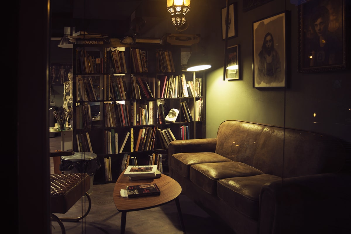 Sala de lectura. Academia de Pintura y Dibujo Estudio Nigredo. Calle Granada 11 Madrid