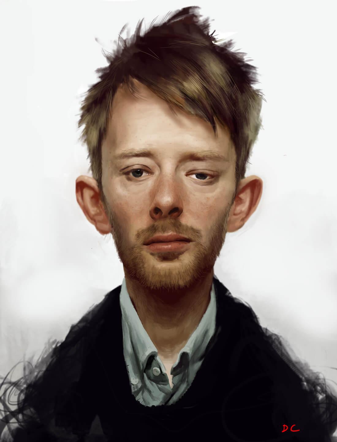 Ilustración Digital. Diego Catalán. Estudio Nigredo - Academia de Pintura y Dibujo