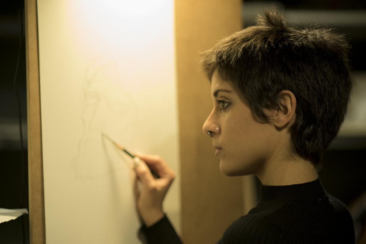 Clases en Estudio Nigredo - Academia de Pintura y Dibujo. C/ Granada 11 28007 Madrid
