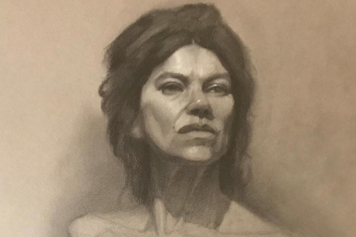 Dibujo a lápiz Estudio Nigredo - Academia de Pintura y Dibujo