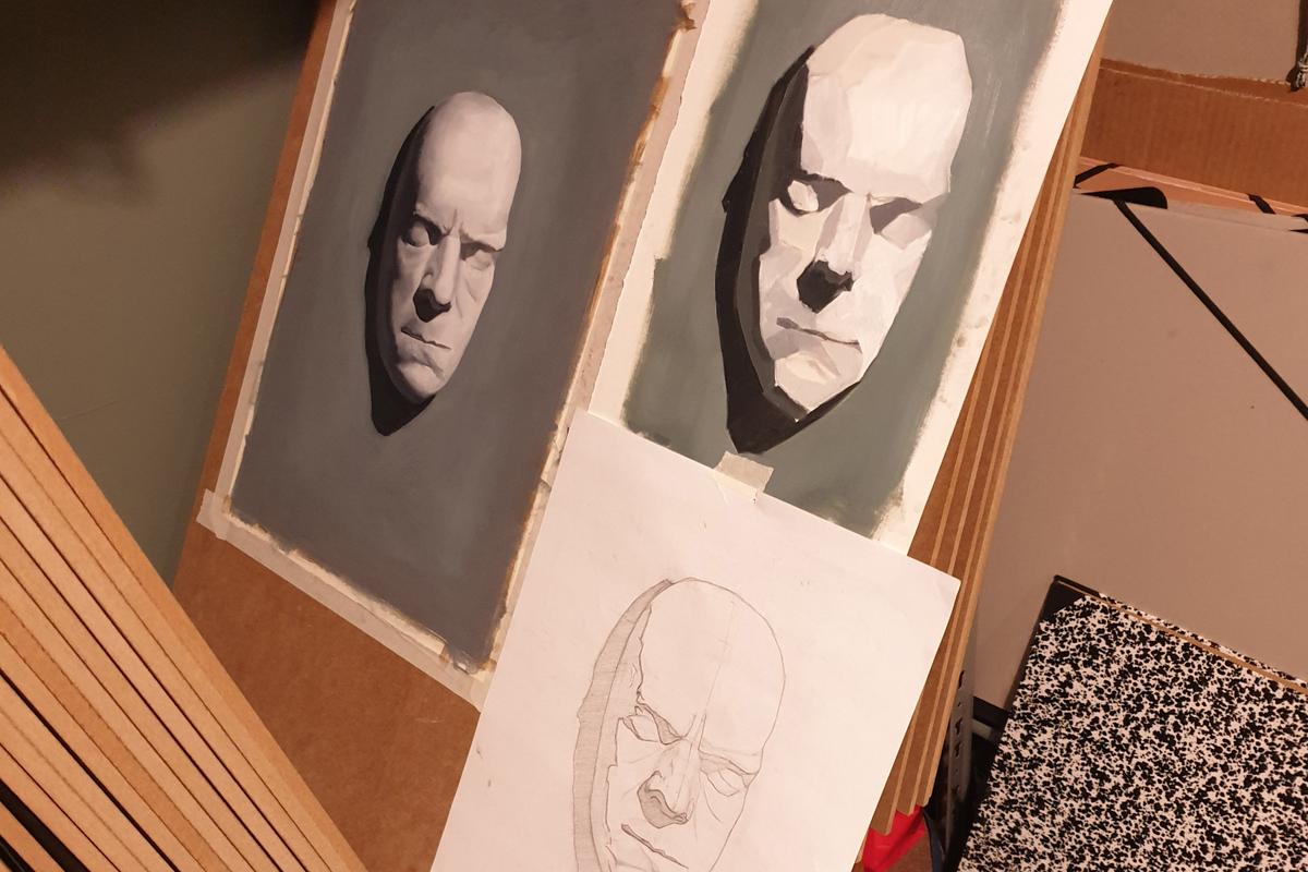 Clases Pintura. Estudio Nigredo - Academia de Pintura y Dibujo