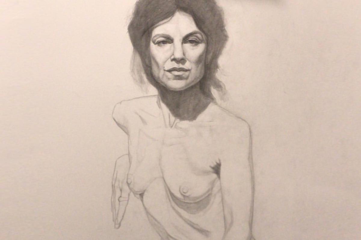 Dibujo a lápiz, alumn@ Estudio Nigredo - Academia de Pintura y Dibujo