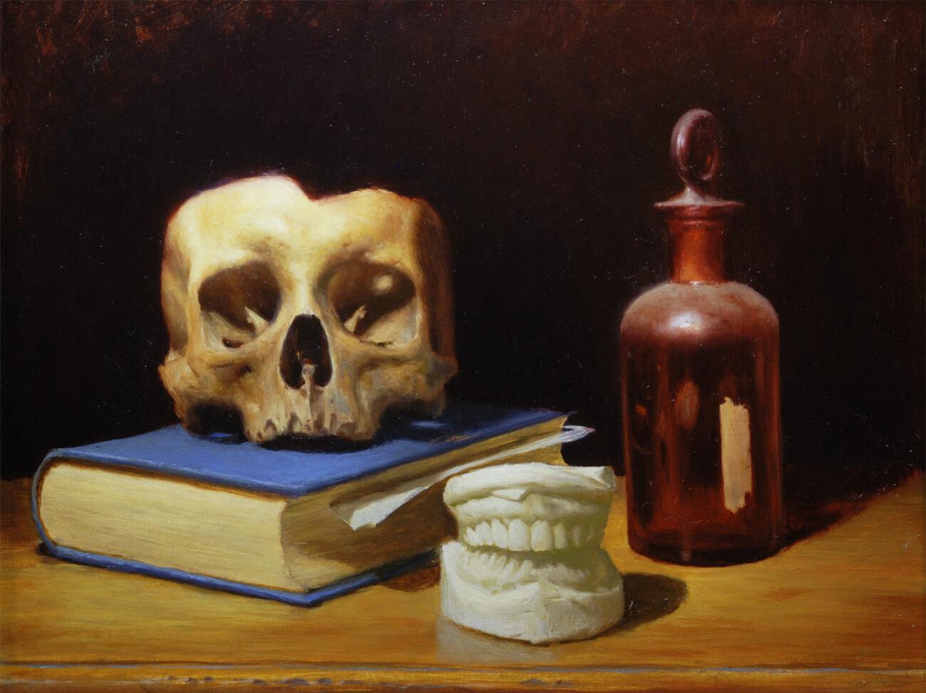 Pintura Óleo. Diego Catalán. Estudio Nigredo - Academia de Pintura y Dibujo
