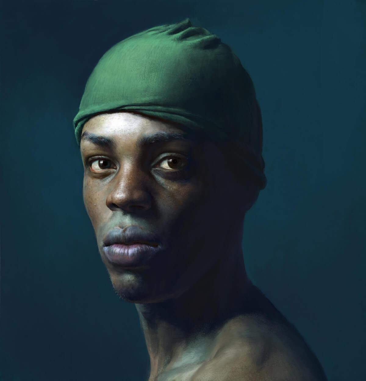 Pintura Digital. Diego Catalán. Estudio Nigredo - Academia de Pintura y Dibujo